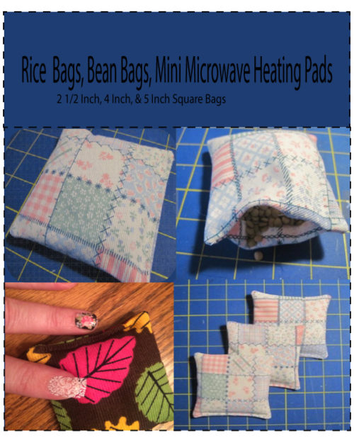 Bean Bag Heat Pad Pdf Sewing Pattern D10 Apm Website Image 1